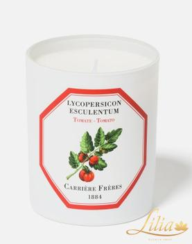 LUXURY AROMATIC CANDLE CARRIÈRE FRÈRE TOMATO